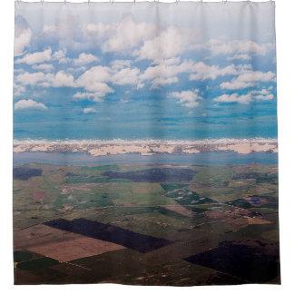 South Australian Coastline Shower Curtain