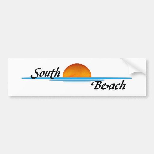 South Beach Bumper Stickers