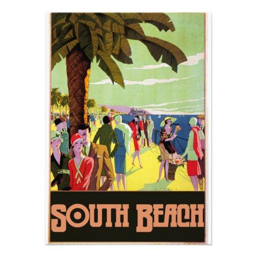 South Beach Custom Announcements