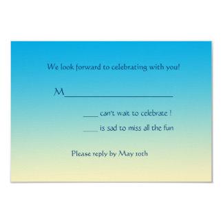 South Beach Invitation Response Card