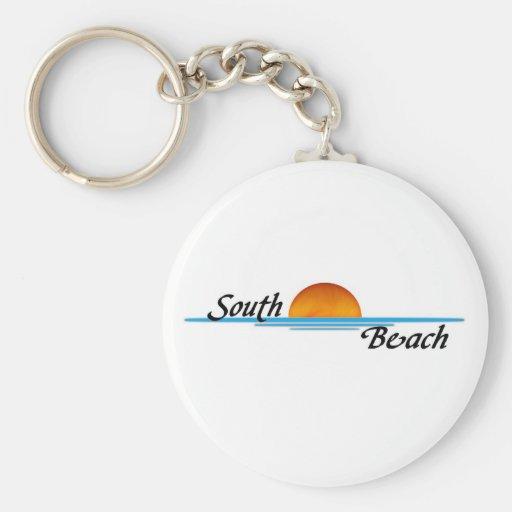South Beach Key Chains