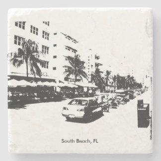 South Beach Marble Coaster