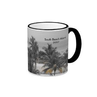 South Beach Miami2007 Ringer Coffee Mug