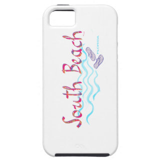 South Beach Miami Flip Flops iPhone 5 Case
