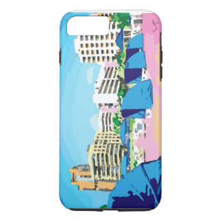 SOUTH BEACH, MIAMI, FLORIDA iPhone Case