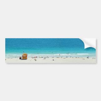 ~South Beach~ STICKER, ADVERTISEMENT TEMPLATE Bumper Sticker