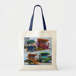 South Beach to tower Patrol Tote bag