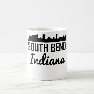 South Bend Indiana Skyline Coffee Mug