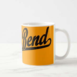 South Bend script logo in black distressed Coffee Mug