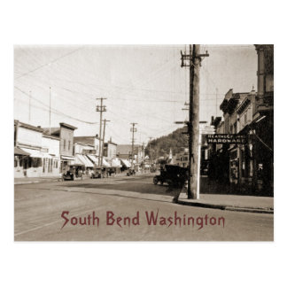 South Bend Washington circa 1925 Postcard