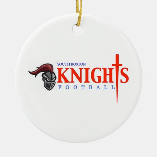 South Boston High School Knights Christmas Tree Ornament