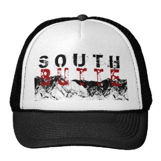 South Butte Black on Red Lid Trucker Hats