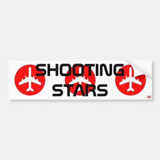 South Butte Shooting Stars Bumper Sticker