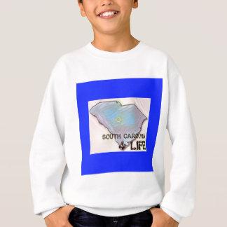 """South Carolina 4 Life"" State Map Pride Design Sweatshirt"