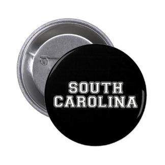 South Carolina 6 Cm Round Badge