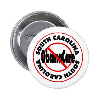 South Carolina Anti ObamaCare – November's Coming Pinback Button