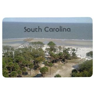 South Carolina Beach Floor Mat
