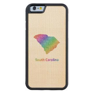 South Carolina Carved Maple iPhone 6 Bumper Case