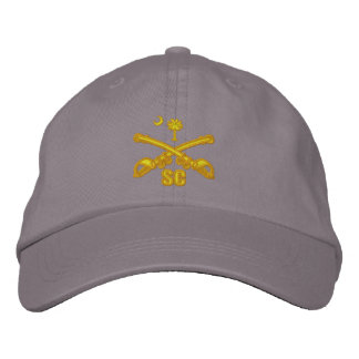 South Carolina Cavalry (Embroidered) Embroidered Baseball Caps