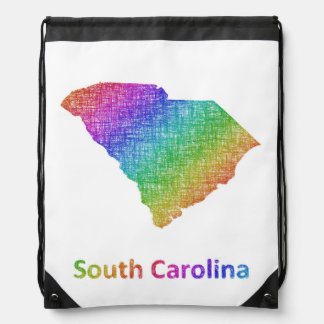 South Carolina Drawstring Bag