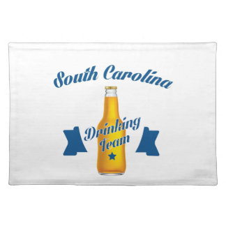 South Carolina Drinking team Placemat