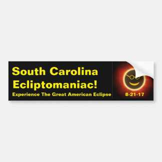 South Carolina Ecliptomaniac Bumper Sticker