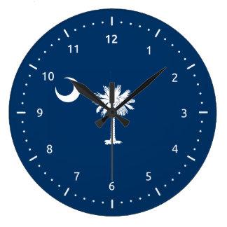 South Carolina flag, American state flag Large Clock