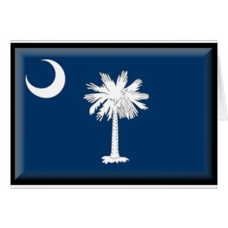 South Carolina Flag Card