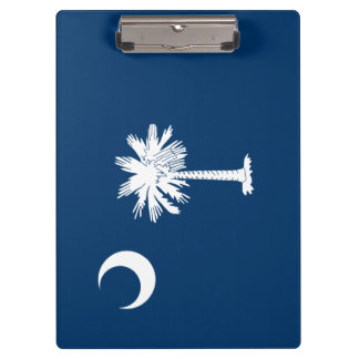 South Carolina Flag Clipboard