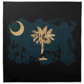 South Carolina Flag Printed Napkin