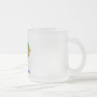 South Carolina Frosted Glass Coffee Mug