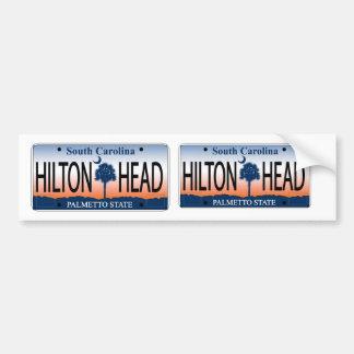 South Carolina Hilton Head Sunrise license plate Bumper Sticker