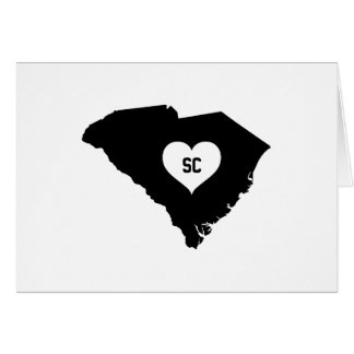 South Carolina Love Card