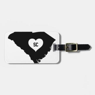 South Carolina Love Luggage Tag