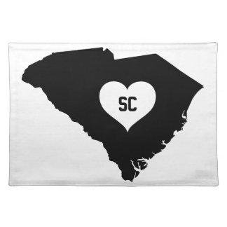 South Carolina Love Placemat