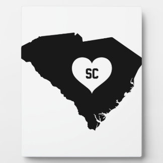 South Carolina Love Plaque