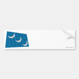 South Carolina Militia Flag Bumper Stickers