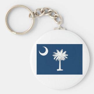 South Carolina Native Key Ring
