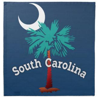 South Carolina Palmetto Crab Napkin