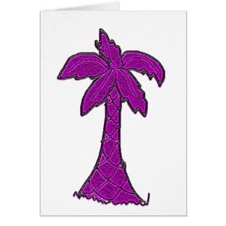 south carolina palmetto tree card