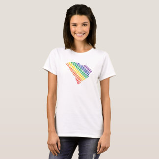 South Carolina Rainbow State T-Shirt