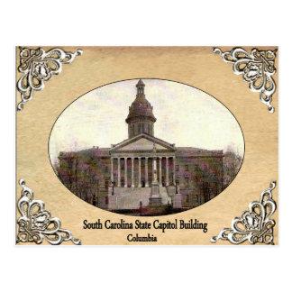 South Carolina State Capitol Building Old Postcard
