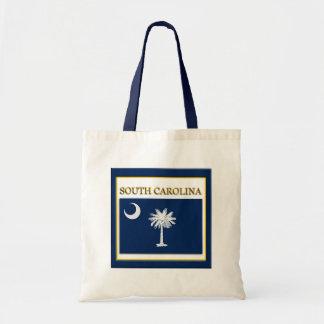 South Carolina State Flag Design Budget Canvas Bag