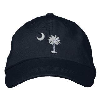 South Carolina State Flag Design Embroidered Hat