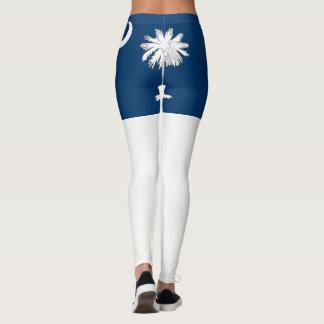 South Carolina State flag Leggings