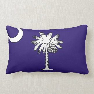 south carolina state flag united america pillow