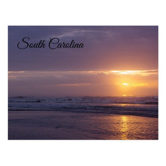 South Carolina Sunrise Postcard