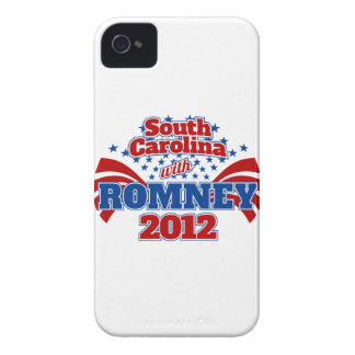 South Carolina with Romney 2012 iPhone 4 Case-Mate Case