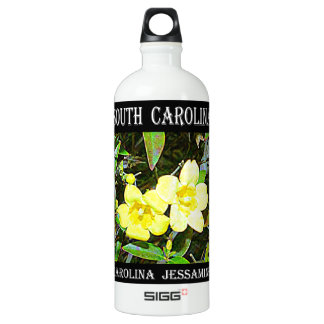 South Carolina Yellow Jessamine Water Bottle