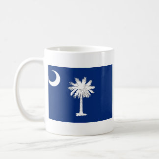 South Carolinian Flag + Map Mug